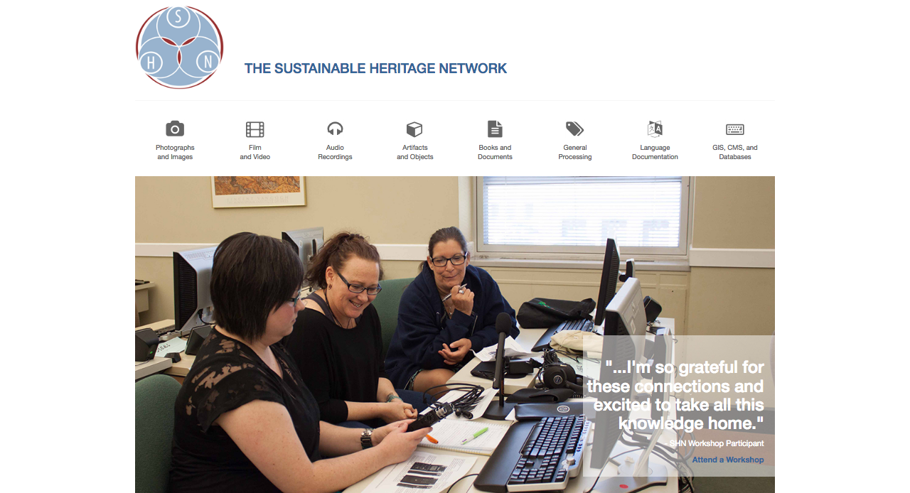 The Sustainable Heritage Network